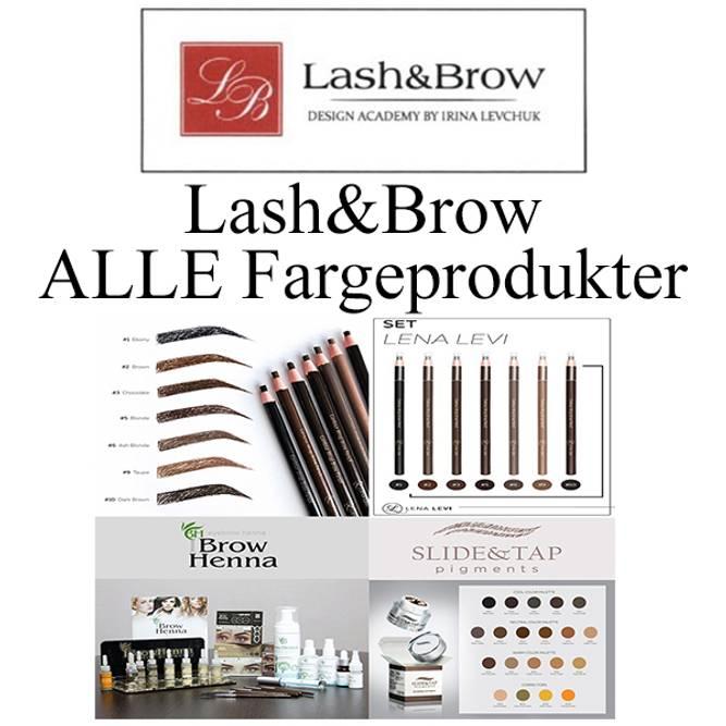 Bilde av LASH&BROW ALLE Fargeprodukter