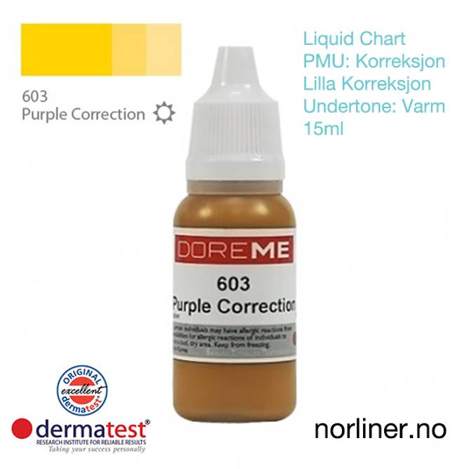 Bilde av MT-DOREME #603 PMU PURPLE-Korrigering [Liquid