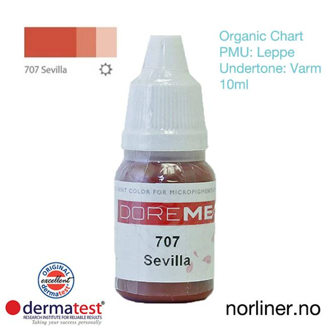 Bilde av MT-DOREME #707 Sevilla PMU Leppe [Organic Chart]