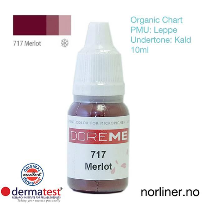 Bilde av MT-DOREME #717 Merlot PMU Leppe [Organic Chart]