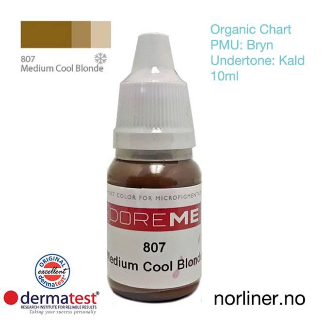 Bilde av MT-DOREME #807 Medium Cool Blonde PMU Bryn