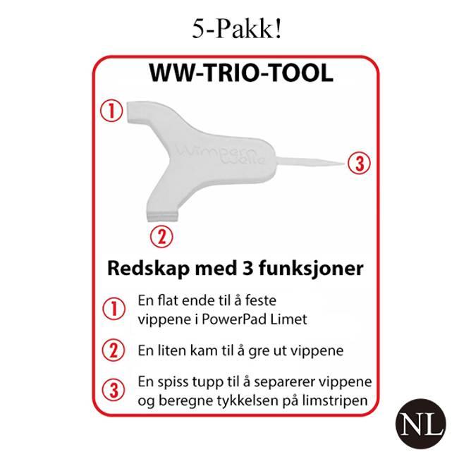 Bilde av WW-TRIO-TOOL - 5-Pakk