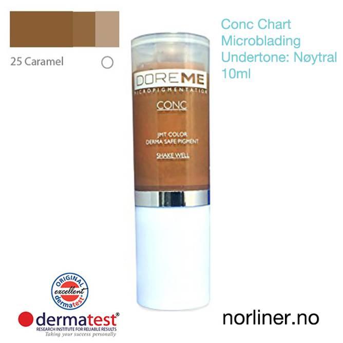 Bilde av MT-DOREME #25 Caramel til Microblading [Conc